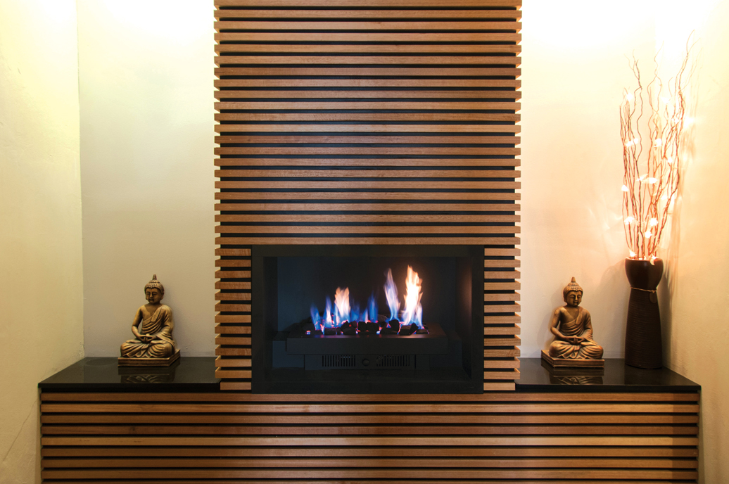 Elegance Gas Fireplace Design Content