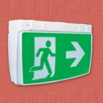 Download CAD files for Exit Emergency Lighting EXITSM