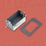 Download CAD files for Mounting Wall Box Fire Rated 157-1F