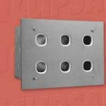 Download CAD files for Switchplate 6G S-S INCL Wall Box B6-30-3
