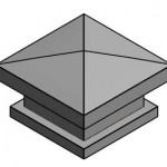 Download CAD files for Alpha Relief Air Vents MRV