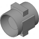 Download CAD files for Minitube Series Steel MTS