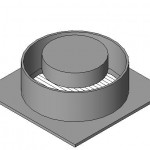 Download CAD files for Vogue Ceiling Wall Series VCW