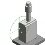 Download CAD files for Raypak Outdoor B0200HWT