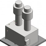 Download CAD files for Raypak Outdoor B2804HWT