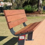 Download CAD files for Outdoor-Seating-Unisite Atessa Timber Park Seat