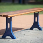 Download CAD files for Outdoor-Seating-Unisite Urbanstyle Timber Bench