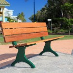 Download CAD files for Outdoor-Seating-Unisite Urbanstyle Timber Park Seat