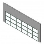 Download CAD files for Design-A-Door 1370-1820 (6125 to 6600)