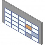Download CAD files for Design-A-Door 1825-2440 (5290 to 6120)