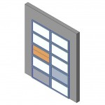 Download CAD files for Design-A-Door 2445-3050 (1800 to 3050)