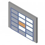 Download CAD files for Design-A-Door 2445-3050 (3055 to 3795)