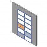 Download CAD files for Design-A-Door 3055-3420 (1800 to 3050)