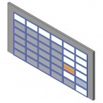 Download CAD files for Design-A-Door 3055-3420 (6125 to 6600)