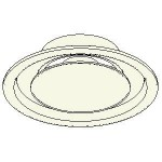 Download CAD files for DC Holyoake MEQ Ceiling Round Adjustable Plaque Diffuser