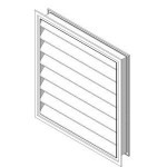 Download CAD files for Outside Louver OHL-F-102 supply