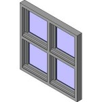 Download CAD files for Crestlite Awning Inline Two Light Lowlite