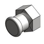 Download CAD files for Blucher Press-Fit 316 SS – FI Adaptor (F-FI BSP)
