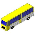 Download CAD files for Bus