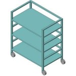 Download CAD files for Library Trolley