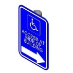 Download CAD files for Disabled sign (Right)
