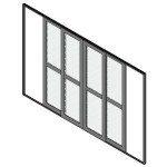Download CAD files for Door Sliding 2Panel-BiParting
