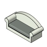 Download CAD files for FUR-Couch 00