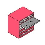 Download CAD files for tool shelf