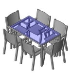Download CAD files for FURN -_Outdoor_Suite_-_Generic_-_6_Seats