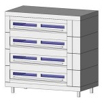 Download CAD files for Oven-Deck