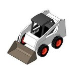 Download CAD files for Skid Steer Loader