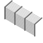 Download CAD files for Security Fence