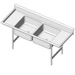Download CAD files for Sink-Produce
