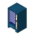 Download CAD files for Vending Machine1