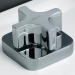Download CAD files for Dorf Myriad Cross Square Flange Basin Top Assemblies