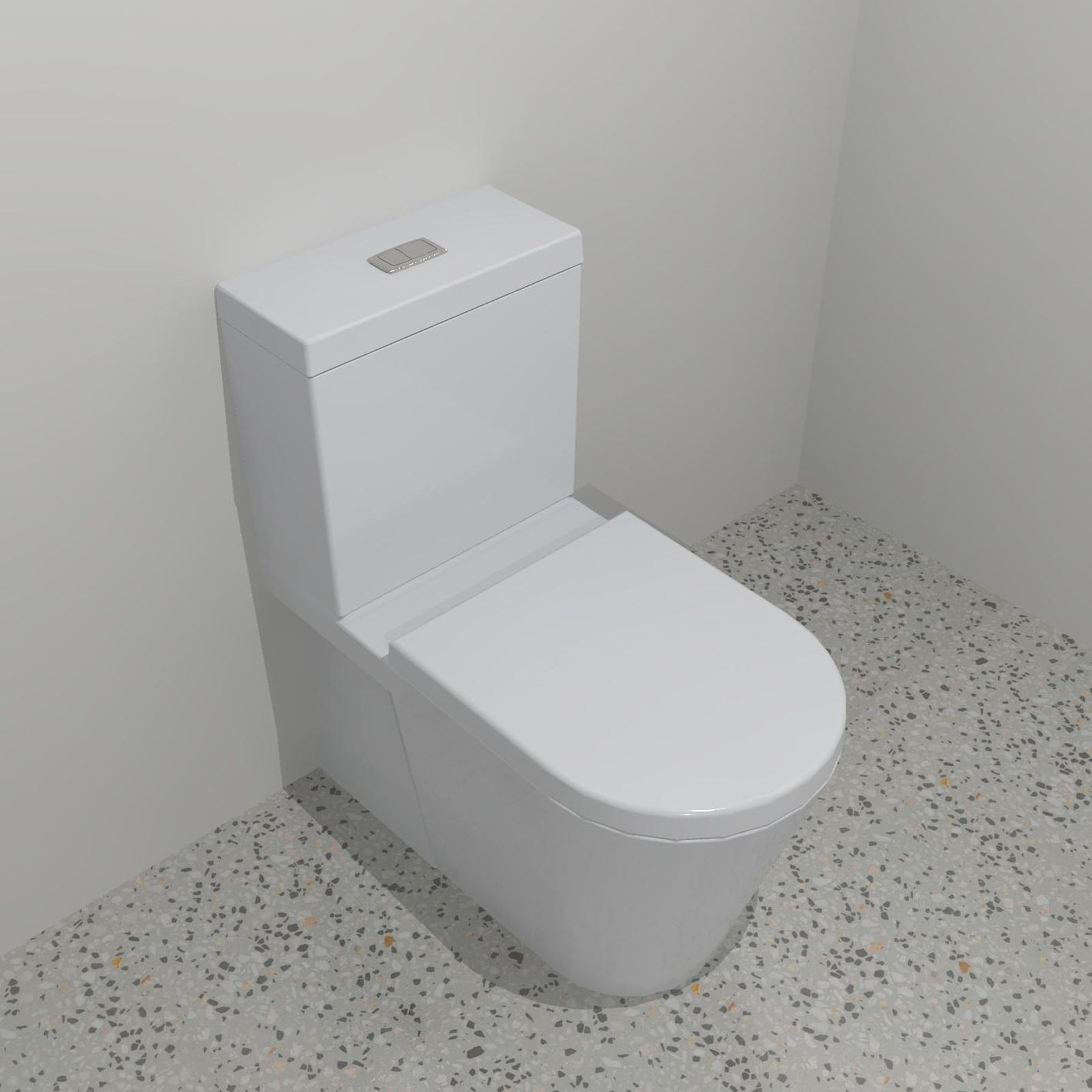 Caroma Sahara Wall Faced Close Coupled Toilet Suite