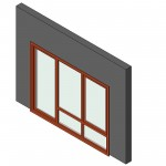 Download CAD files for AU Awning 01 In trim 3-2 + door