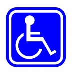 Download CAD files for AU Disabled symbol