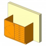 Download CAD files for Base Cabinet-Combo04-Wall