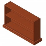 Download CAD files for Bookcase (Type 1)