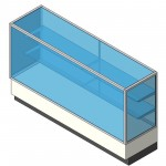 Download CAD files for Display Case