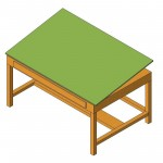Download CAD files for Drafting Table