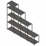 Download CAD files for Parametric Shelf Stack