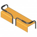 Download CAD files for Pipe Bench