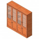 Download CAD files for Presidental Wall Unit