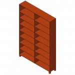 Download CAD files for Shelving Unit