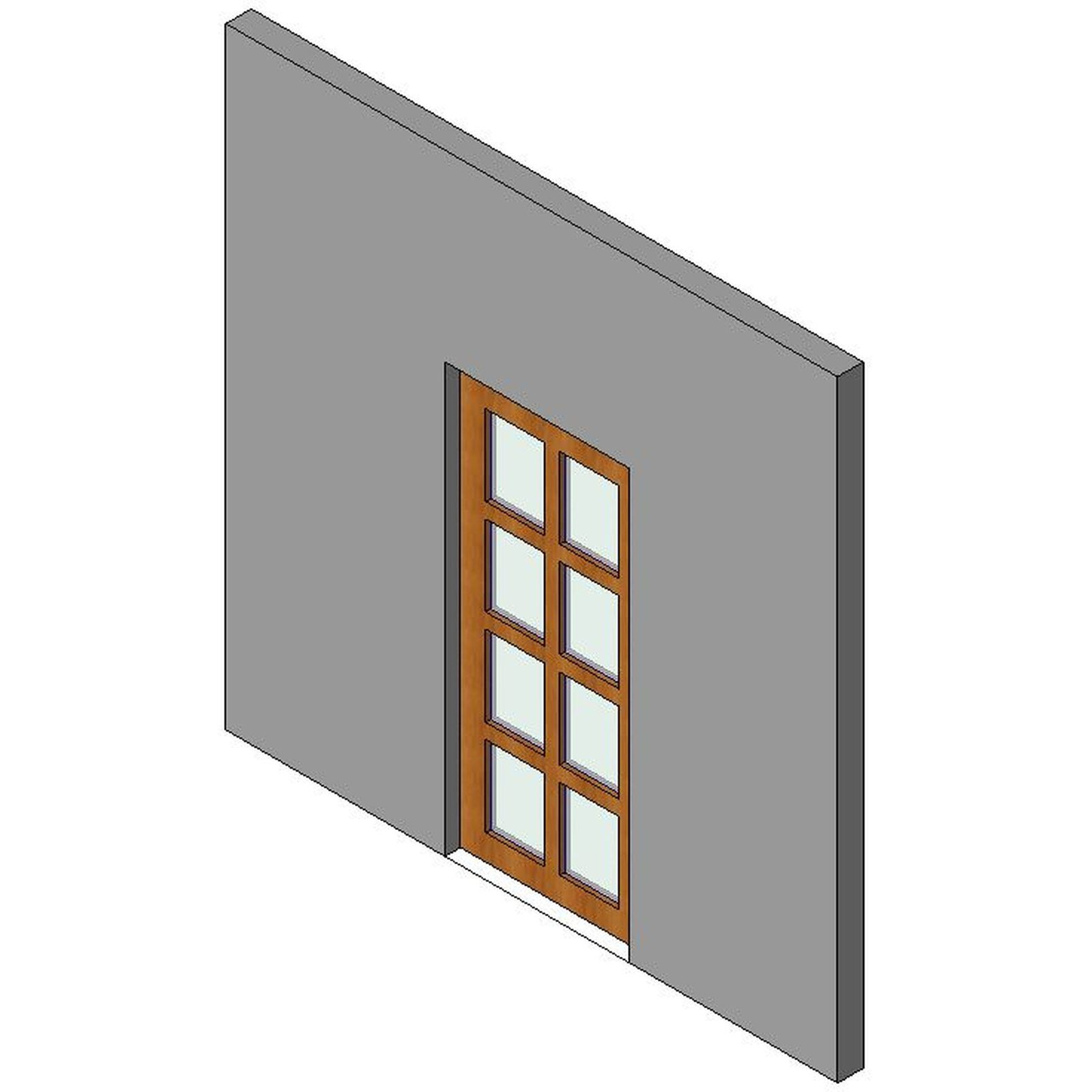 French design content for French doors no glass