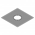 Download CAD files for Tree Grate – Square