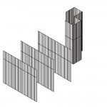 Download CAD files for Scyon™ Axon™ Curtain Wall