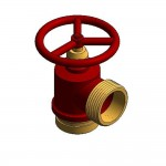 Download CAD files for Fire Hydrant Landing Valve QLD – BSP